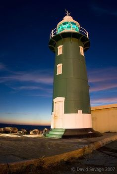 Fremantle South Mole lighthouse, Australia