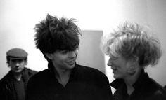 'The big-mouthed/well-coifed frontman of Liverpool's Echo & the Bunnymen, Ian McCulloch got his. Echo And The Bunnymen, Tumblr Me, Joy Division, Lets Dance, Post Punk, World Music, Great Bands, Lorraine, 1980s