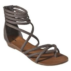 Women's Mossimo® Pari Strappy Sandals - Chocolate Brown : Target - StyleSays