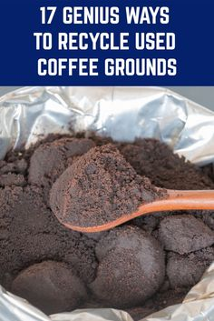 You'll never throw your coffee grounds away again after seeing what you can do with them. Uses For Coffee Grounds, Coffee Uses, Organic Gardening, Gardening Tips, Indoor Gardening, Container Gardening, Acid Loving Plants, Ways To Recycle, Repurpose