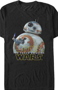 Star Wars Force Awakens BB-8 Lighter T-Shirt