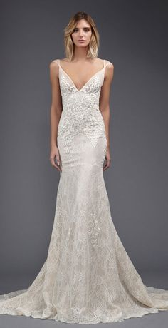 Victoria KyriaKides' Weightless Lace Gowns for Spring 2017