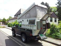 Wohnmobil auf Nissan Patrol, Wohnkabine, Schlafdach, Allrad, Extras   eBay