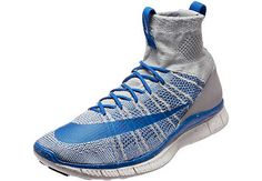 Nike Free Mercurial Superfly - Wolf Grey and Royal   SoccerMaster.com