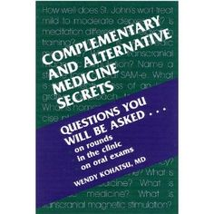 Complementary and Alternative Medicine Secrets