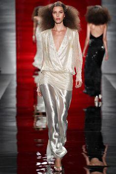 New York Fashion Week…Reem Acra Spring 2014 ~Just Dance. Jerry Hall...