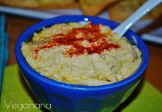Homus (Pasta de Grão de Bico) - Veganana