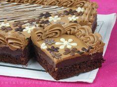 Mazurek czekoladowy 2