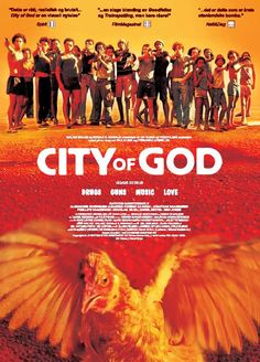 Brazil, 1960's, City of God. The Tender Trio robs motels and gas trucks. Younger kids watch and learn well...too well. 1970's: Li'l Zé has prospered very well and owns the city. He causes violence and fear as he wipes out rival gangs without mercy. His best friend Bené is the only one to keep him on the good side of sanity. Rocket has watched these two gain power for years, and he wants no part of it. Yet he keeps getting swept up in the madness. All he wants to do is take pictures. 1980's…