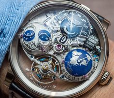Bovet Recital 18 Shooting Star Watch Hands-On