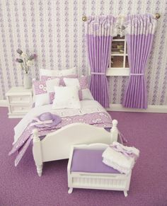 Hey, I found this really awesome Etsy listing at http://www.etsy.com/listing/128176608/miniature-dolls-house-furniture-lilac