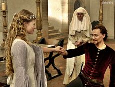 King Henry V and Kate - this is funny.