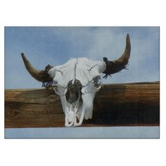 One of our newest cutting boards.  #zazzle #zazzlestore #cuttingboard #cuttingboards #kitchen #cooking #chef #chefs #cook #bullskull #cowskull #skull #skulls #blackfriday #cybermonday #holidays #Christmas #shopping #gift