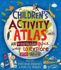 Children's Activity Atlas {#Review & #Giveaway}