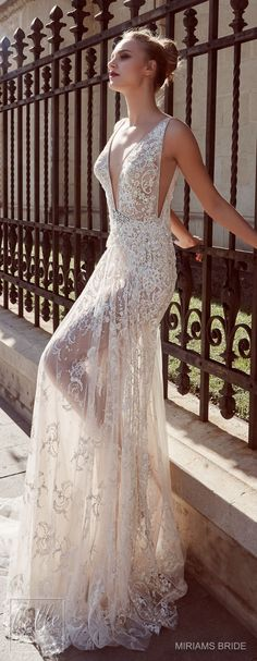 Wedding Dress by Miriams Bride 2018 Collection #WeddingDress #WeddingGown #wedding #bridal #weddings