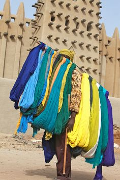 Africa |  Sights and Sounds.  Djenne       Photo credit: Ferdinand Reus