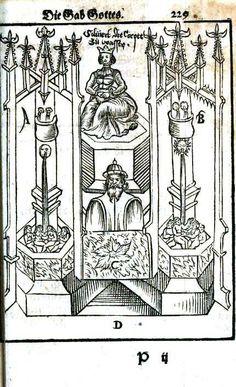 Medieval - Alchemy - German woodblock 20