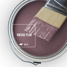 The BEHR Premium Plus 8 oz. Interior/Exterior Paint Sample lets you try a color before you buy it. This sample is acrylic latex paint that provides a long-lasting, tough finish. Room Colors, Wall Colors, House Colors, Flat Interior, Interior And Exterior, Behr Premium Plus, Paint Colors For Home, Behr Paint Colors, Vintage Paint Colors