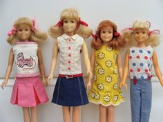 Skipper outfits--I still have the red, white, and blue dress and the yellow one.