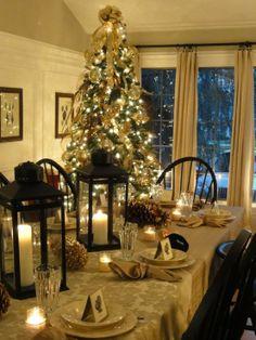 South Shore Decorating Blog: Christmas Holiday Table Settings