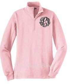 Monogram Sweatshirt Personalized Pullover by SweetThoughtBoutique