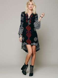Favorite dress, new print! http://www.freepeople.com/whats-new/peacemaker-print-shapeles/