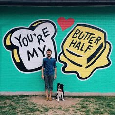 You're my butter half. - photo by Emily Blincoe (Mobile photo)