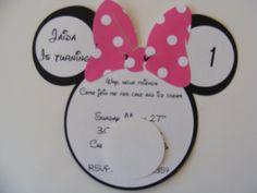 Mini Mouse Birthday Ideas | Whimsical Creations by Ann: Minnie Mouse Birthday Invitations