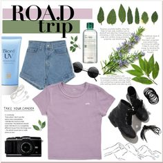 A fashion look from May 2017 by nxive featuring Vans, Retrò, Tony Moly and Bioré