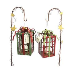 I pinned this 2 Piece Gift Box Lantern Set from the Winter Welcome event at Joss and Main!