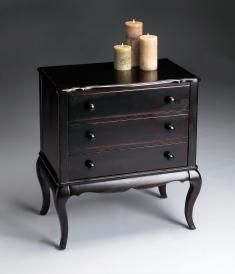 Hand-crafted Chest  with 3 Drawers by Butler