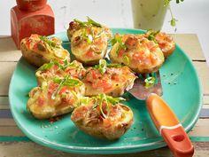 Partyrezepte - das Beste für hungrige Gäste - bruschetta-kartoffeln5 Rezept