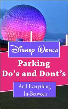 A lot has changed over the years with Disney Worlds parking. Resort parking fees have gone up, see what they charge now. There is still fee parking at the Disney parks for resort guests. Learn additional parking tips and tricks. Disney World parking fees| Disney World parking lot| Disney World parking tips| Complete guide to Disney World parking| Where to park at Disney World Disney Value Resorts, Walt Disney World Vacations, Disney Travel, Disney World Tips And Tricks, Disney Tips, Disney Stuff, Disney World Theme Parks, Disney Theme, Disney Planner