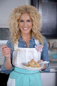 """Little Big Town's Kimberly Schlapman has her very own cooking show on GAC: """"Kimberly's Simply Southern."""" Get recipes from the show here >> http://www.greatamericancountry.com/shows/kimberlys-simply-southern?soc=pinterest"""