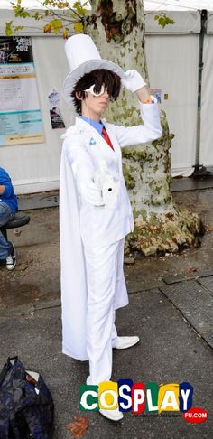 Kaito Kuroba Cosplay from Case Closed in LUCCA COMICS AND GAMES 2012 Italy
