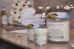 Fresh Linen - the perfect fragrance to relax with and enjoy some 'me' time!
