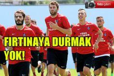 TRABZONSPOR KONDİSYON ÇALIŞTI! - Trabzon Haber   Trabzon Net Haber