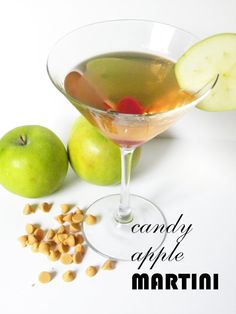 CANDY APPLE MARTINIS