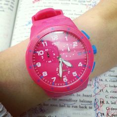 #Swatch PINK FRAME http://swat.ch/NzPOM1