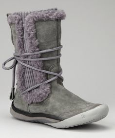 Take a look at this Gray Lilac IT Boot - Women on zulily today!