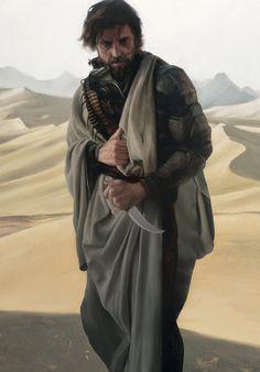 Stilgar by Sam Weber. Dune art