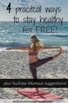Stay healthy and in shape for free! Free workouts! | Economical Girl's Guide