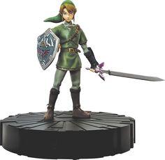 Dark Horse Deluxe - Legend of Zelda: Twilight Princess Link Figure - Green/Brown/Black