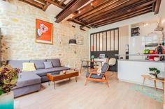 Regardez ce logement incroyable sur Airbnb : Loft atypique dans le 3ème  - Lofts à louer à Paris