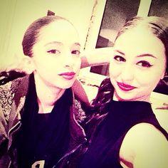 Selfie with my ballerina friend