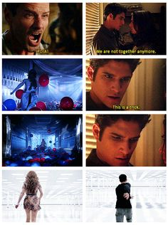 "3x22 ""De-Void"" - I loved how Peter sort of cared for Lydia when she was in Stiles' mind and her nose started bleeding."
