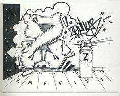 Badass Graffiti Letter Z