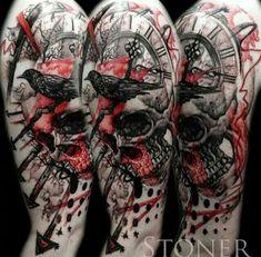 British Trash Polka Tattoos - Google Search
