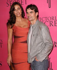 Jeff Gordon Ingrid Vandebosch Photos: 2008 Victoria's Secret Fashion Show - Pink Carpet