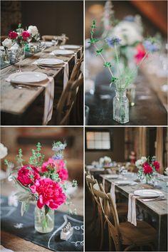 farmhouse table decor
